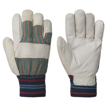 Glove Winter Lined Elastic Wrist