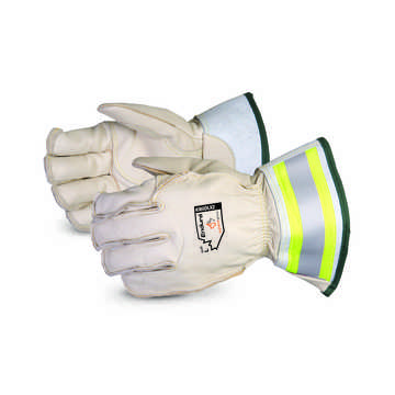 Deluxe Linesman Glove 2in Safety Cuff