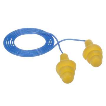 Earplug Ear Ultrafit Corded 100/bx
