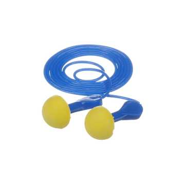 Express Corded Earplugs Blue Grips