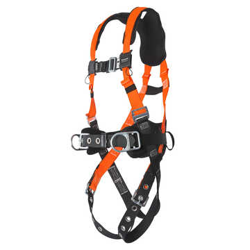 Full Body Harness W/sliding Back D Uni
