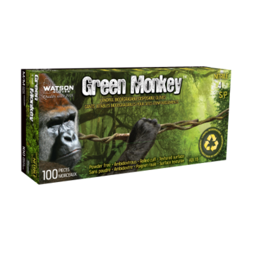 Green Monkey Bio Nitrile Disp Gloves