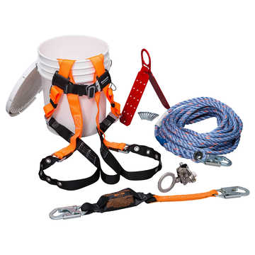Roofers Kit W/tongue Buckle Harness