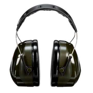 Peltor H7a Over The Head Earmuffs Black