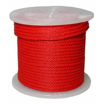 3/8 X 500' POLYPROPYLENE ROPE RED