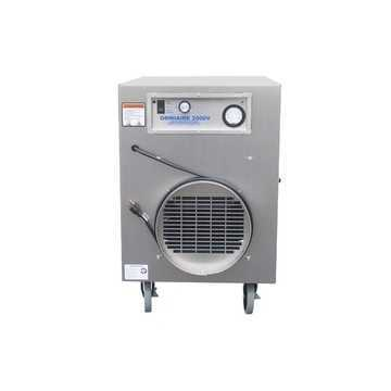 Negative Air Machine Omni-aire Oa2000v Variable Speed W/ Guage