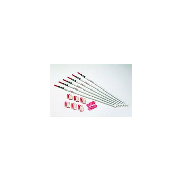 Zipwall Spring Loaded Pole Kit (6/pkg)