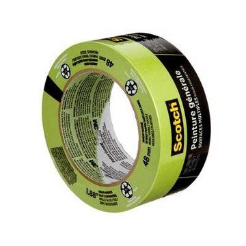Scotch® General Painting Multi-surface Painter's Tape, 2055-48np, 1.88 In X 60.1 Yd (48 Mm X 55 M)