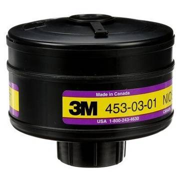 3m™ Organic Vapour/chlorine/hydrogen Chloride/sulfur Dioxide/high Efficiency Cartridge, 453-03-01r06, Aep3, 6/case