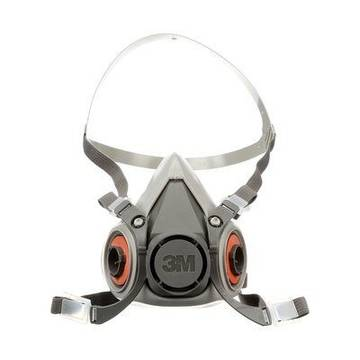 3m™ Half Facepiece Resuable Respirator, 6000 Series, Small, Medium, Large
