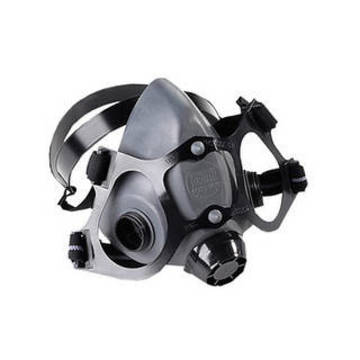 Respirator 1/2 Mask Med Low Maint Rubber Null