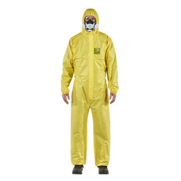 Alphatec® 2300 Standard - Model 111 Coverall Bound Seams With Hood