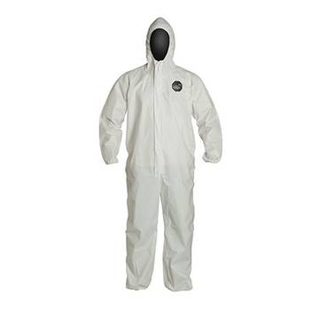 Dupont™ Proshield® 60 Ng127s Coveralls: White, 25/case