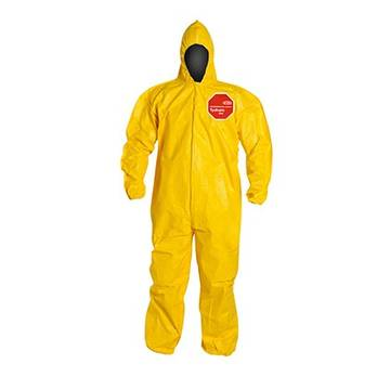 Dupont™ Tychem® 2000 Coverall Qc127byl Coverall: Yellow