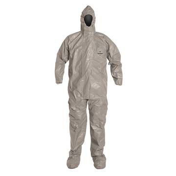 Dupont™ Tychem® 6000 Tf169tgy Coverall: Gray, 6/case