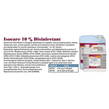 Isocare 10 Percent Disinf 20l Pail