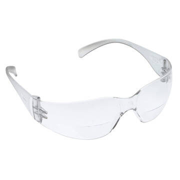 3M™ Virtua Reader Protective Eyewear, 11514-00000-20, Clear Anti-Fog Lens, Clear Temple, +2.0 dioptre