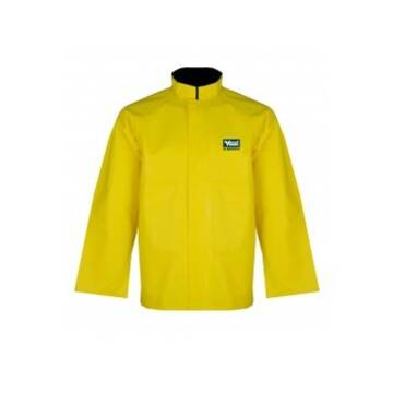 Rain Jacket With Vented Back Yellow
