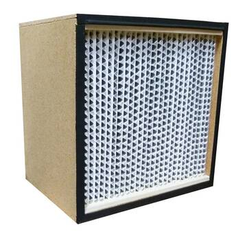 Hepa Filter 99.97%, 0.3µ, Wood Frame - Oa600v