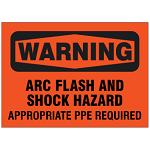 Arc Flash Safety Signs