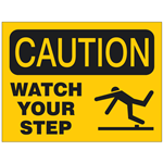Slips, Trips & Falls Safety Signs