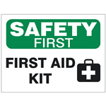 First Aid, Eye Wash & Emergency Shower Safety Signs