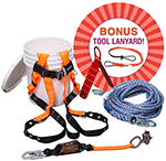Honeywell Miller Roofers Fall Protection Kit