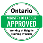 Ministry of Labour Approved Working at Heights Training