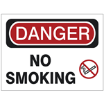 Smoking Safety Signs