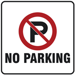 Parking & Traffic Safety Signs