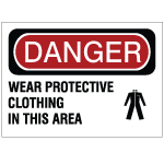 Protective Clothing Safety Signs