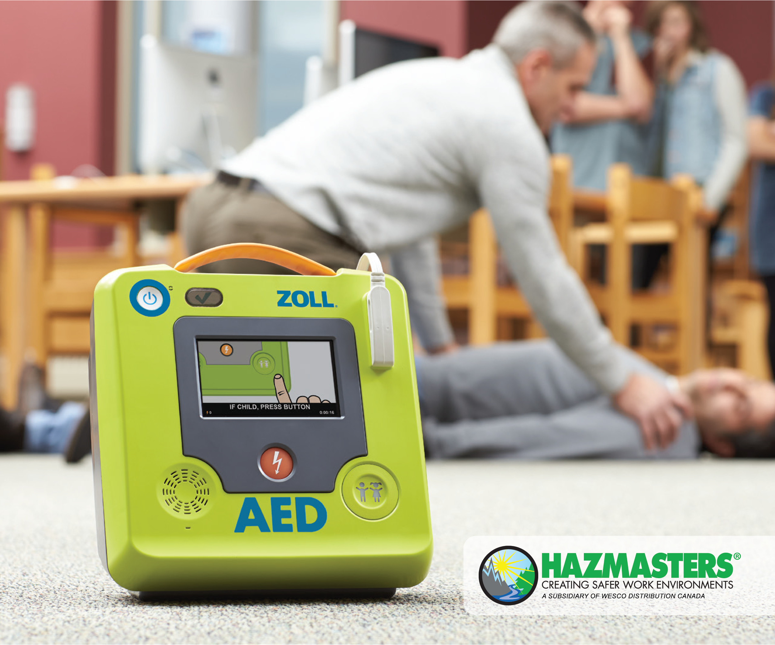 Hazmasters has partnered with Zoll Medical!